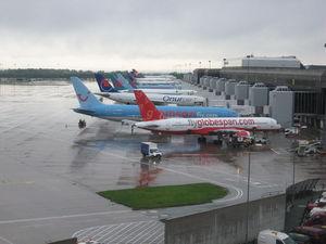 Manchester Airport Terminal  Arrivals Car Park